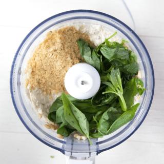 Vegan creamy pesto dip (recipe)