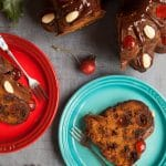 Tropical fruit Christmas cake. Perfect for Stir Up Sunday