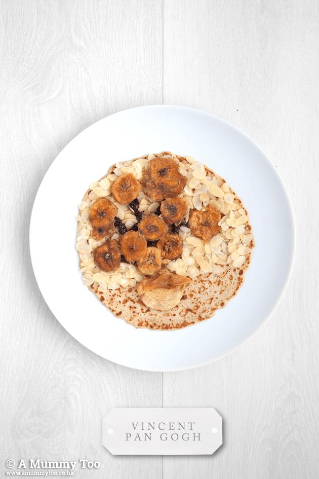 Making pancake art - here's Vincent Pan Gogh