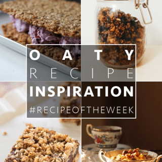 Oaty inspiration + #recipeoftheweek 15-21 Nov