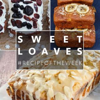 Sweet loaves + #recipeoftheweek 29 Nov – 5 Dec