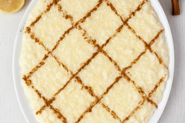 Arroz Doce (Portugese rice pudding)