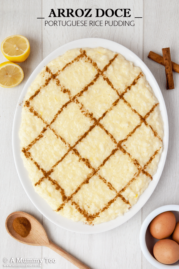 Arroz Doce (Portugese rice pudding)