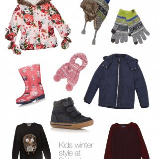 Kids' winter style at Debenhams