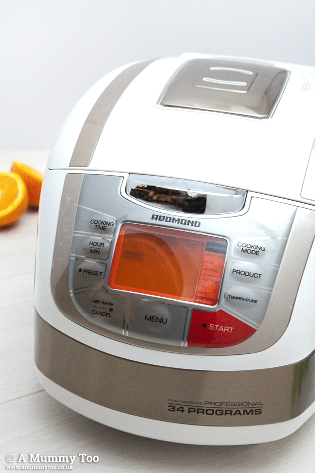 REDMOND multicooker - a great way to make this healthier Christmas dinner at home
