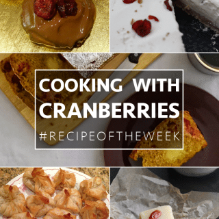 Cooking with cranberries + #recipeoftheweek 6-12 Dec