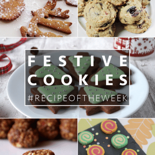 Festive cookie ideas + #recipeoftheweek 13-19 Dec