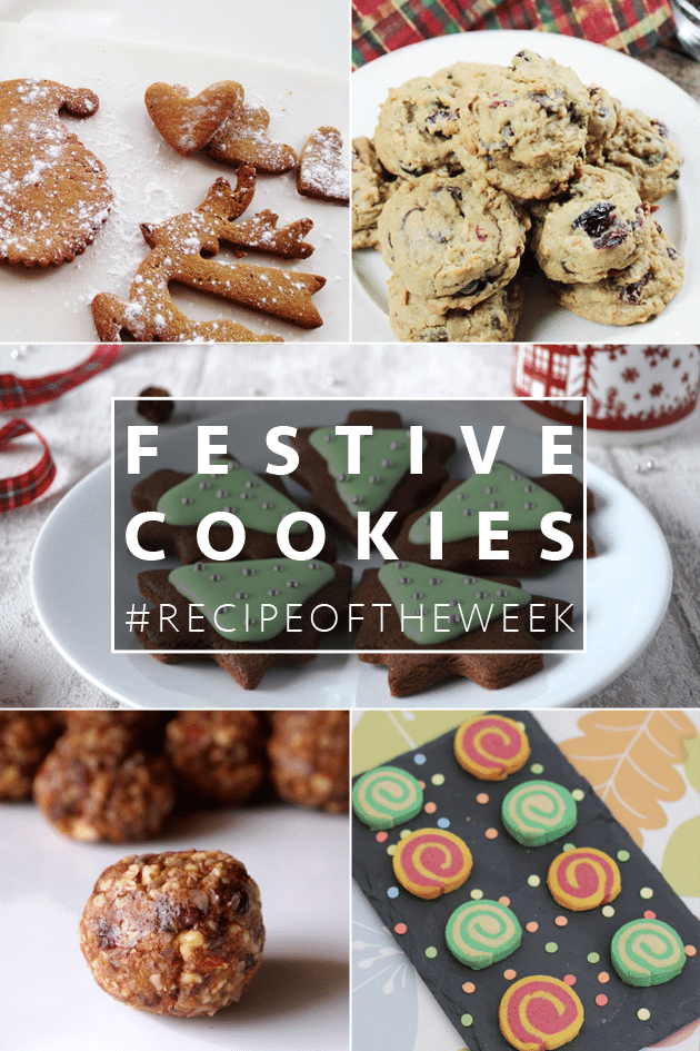 Ideas for festive cookies. All look yummy!
