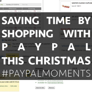 Shopping with Paypal and saving time for magical moments this Christmas