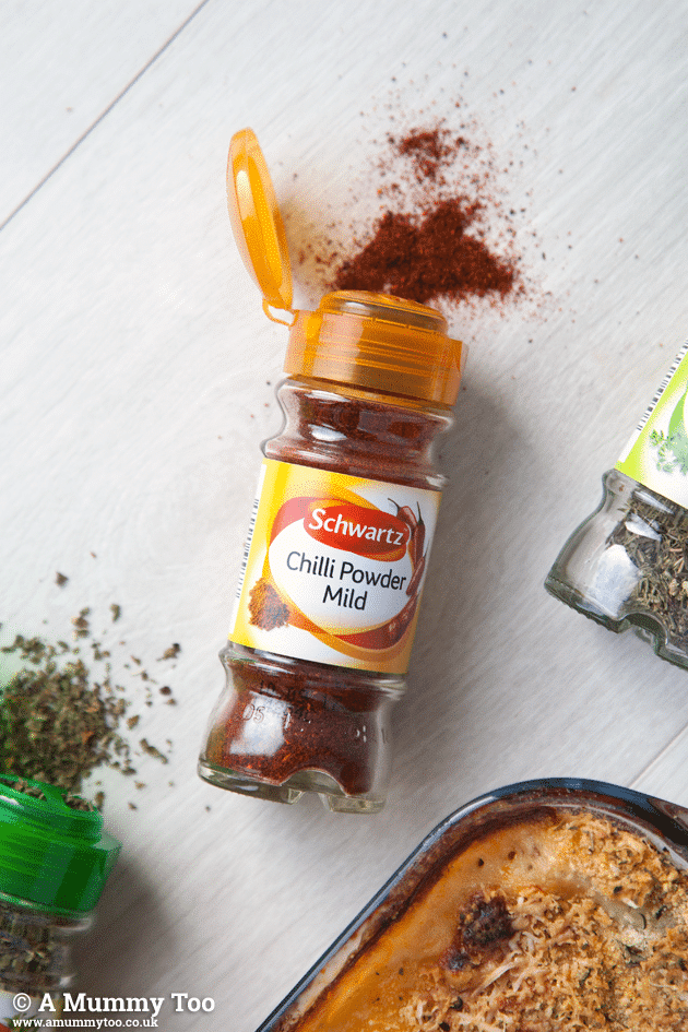 This recipe features Schwartz Chilli Powder Mild
