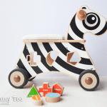 Win a Ride On Shape Sorter Zebra worth £74.95