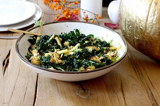 Kale and Cauliflower Salad