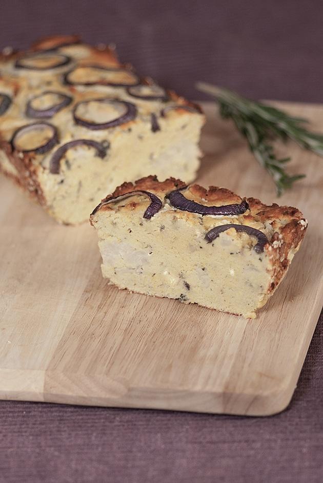 Paleo Cauliflower Bread Loaf