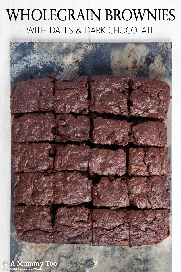 Wholegrain dark chocolate brownies + win a copy of The Clean-Eating Kitchen