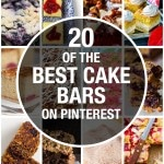 20 of the best tray bakes and cake bars on Pinterest