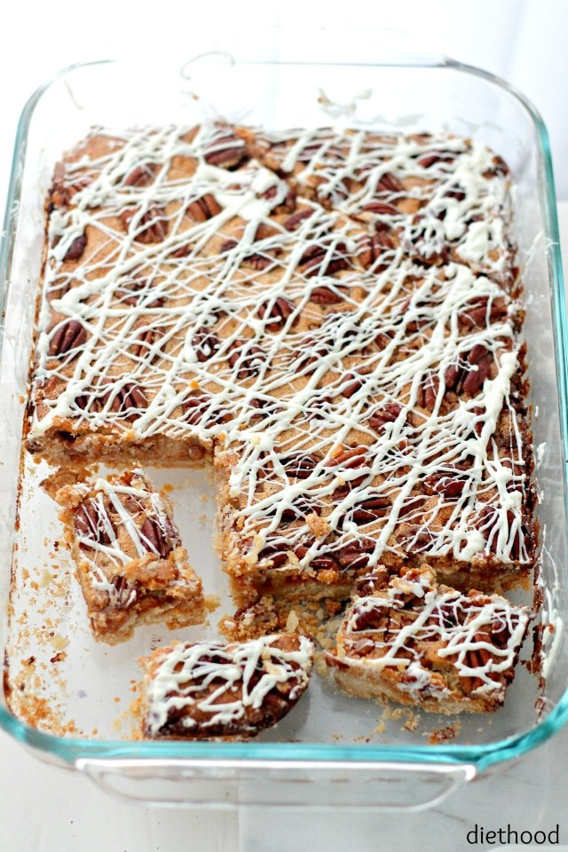 Pecan-Pie-Cake-Bars