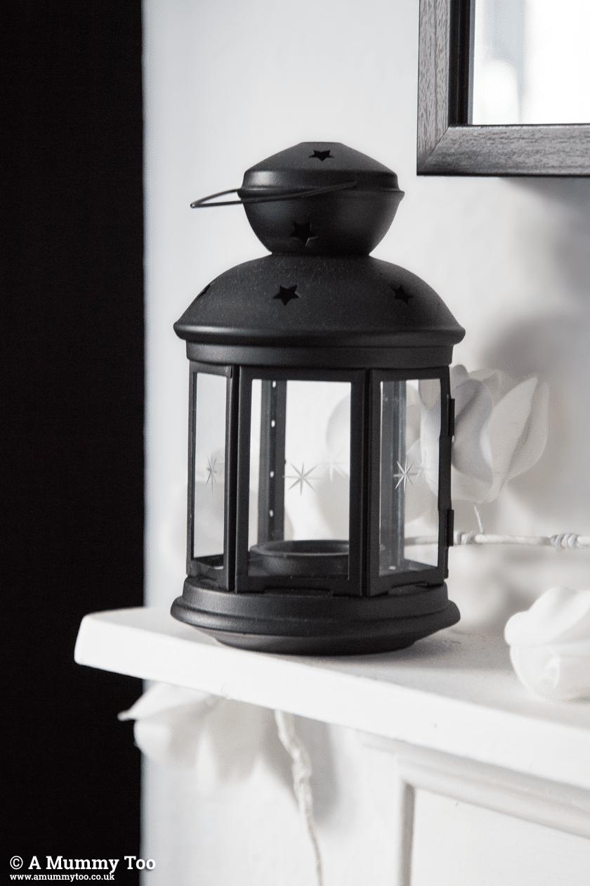 IKEA Rotera Tea Light Lanterns in Black