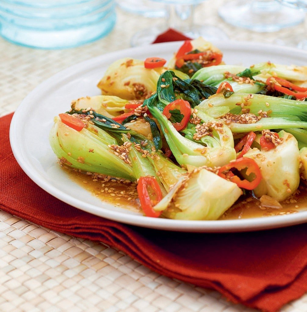 A tasty, spicy pak choi dish - with a recipe from Parragon's Eat Your Greens