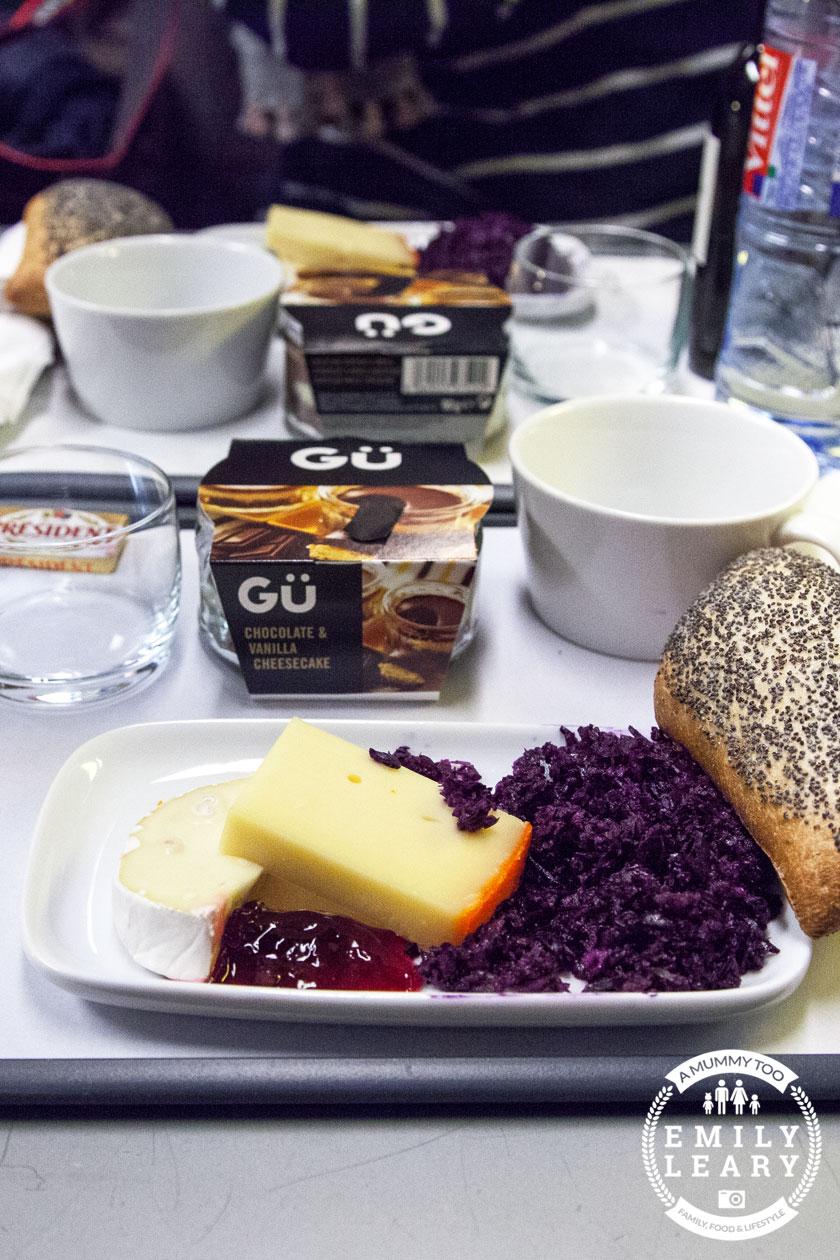 Dinner on Eurostar Standard Premier