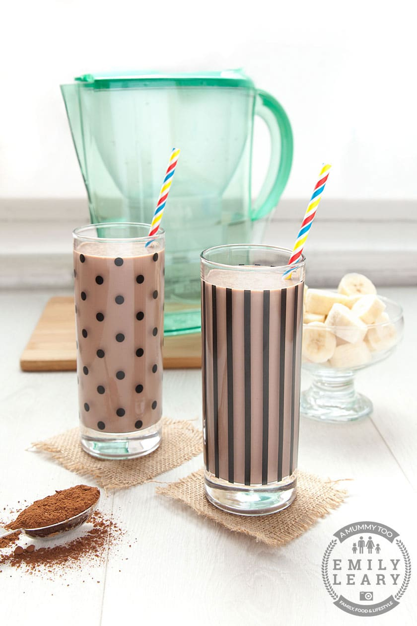 Coconut milkshake - a tooth friendly recipe for kids