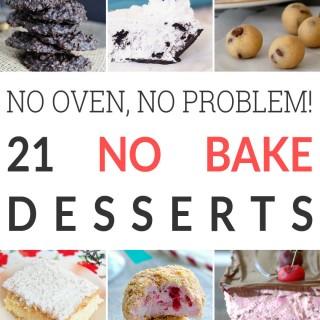No oven, no problem! 21 no-bake dessert recipes