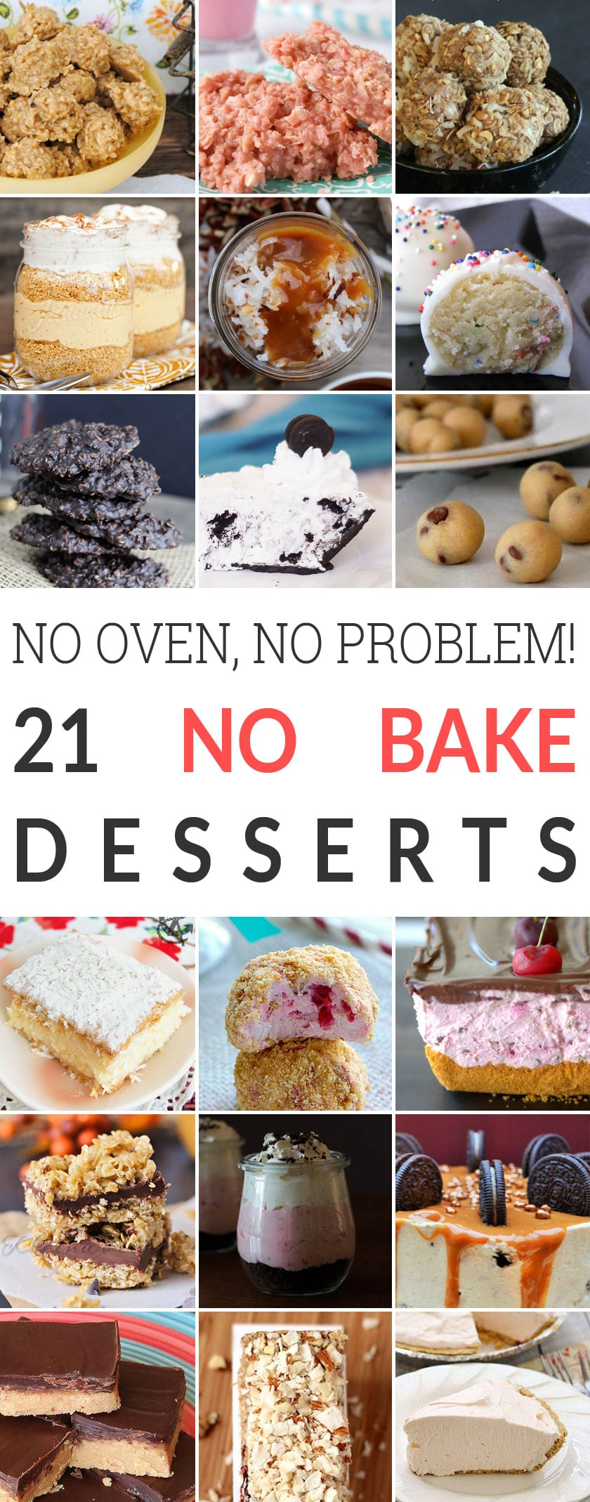 No oven, no problem: 21 no-bake dessert recipes