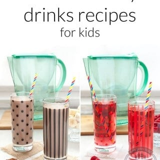 Teeth-friendly drinks recipes for kids