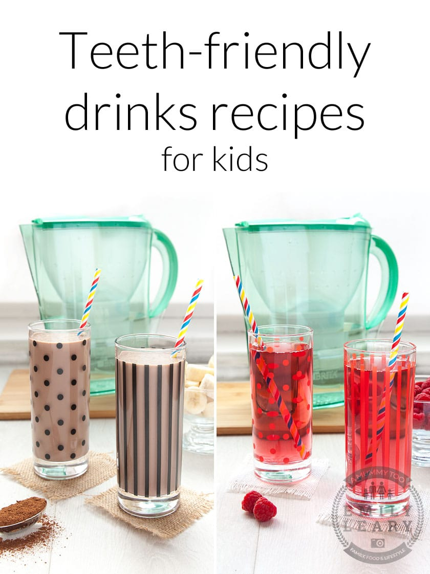Teeth-friendly drinks recipes for kids - find out how to make these alternatives to popular drinks