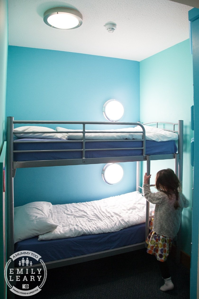 Blackpool Pleasure Beach Big Blue Hotel Kids Bedroom
