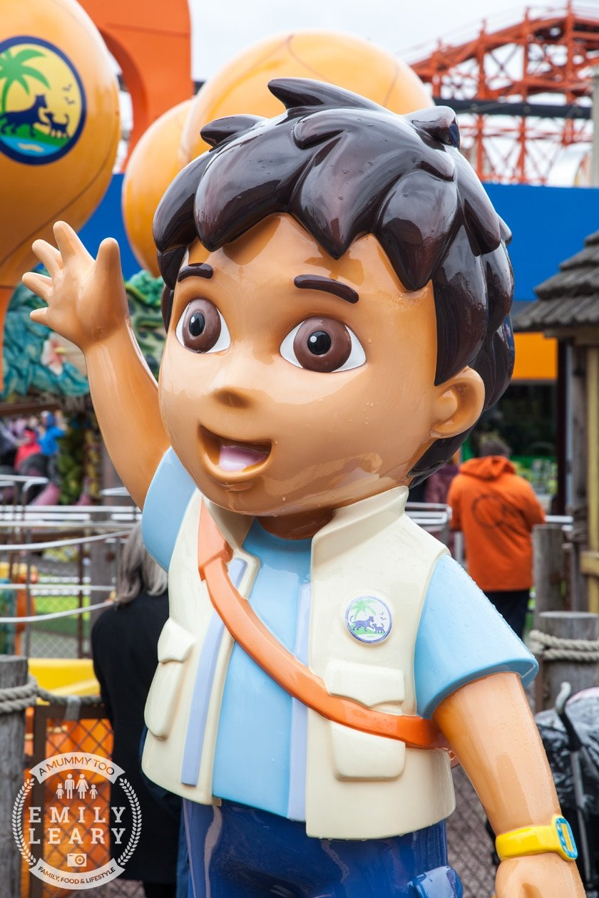 Blackpool Pleasure Beach Nickelodeon Land Diego