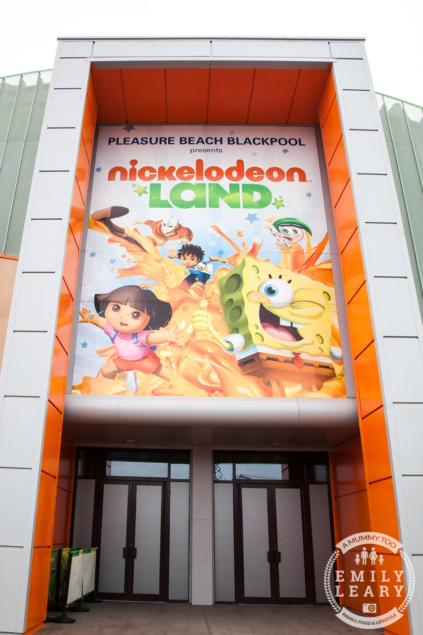Blackpool Pleasure Beach Nickelodeon Land