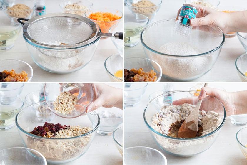 gf-carrot-cakes-steps-1-4
