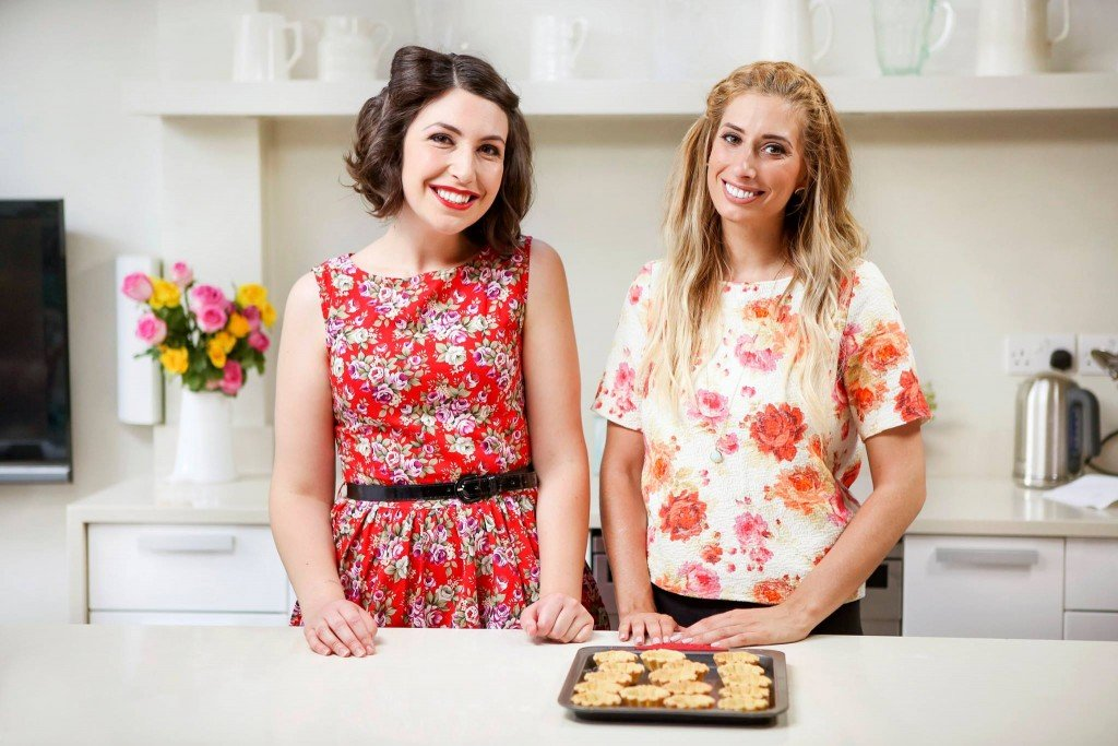 Emily Leary and Stacey Solomon