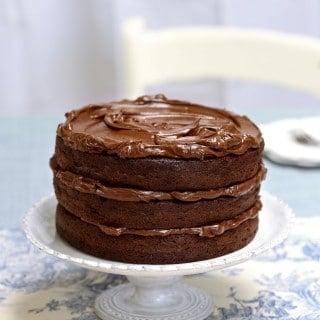 Ultimate chocolate fudge layer cake
