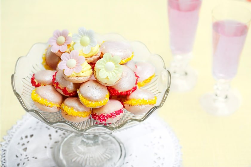 Beautifully bright macaroons, or french maacarons. Find out how easy it can be to make them!