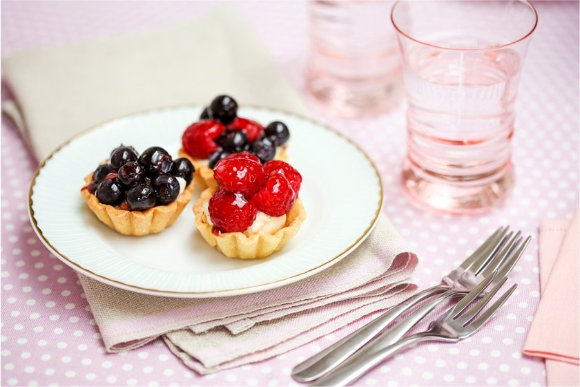 Fabulously fruity little tartlets.