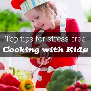 Top tips for stress-free cooking with kids