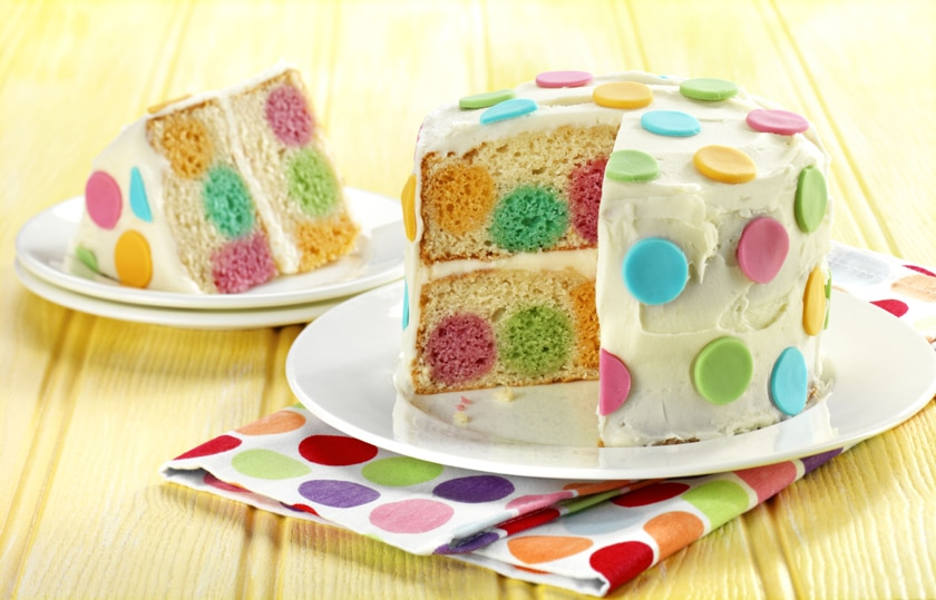 Dotty inside cake? That's really difficult, isn't it? NOPE! Grab this easy method today and try it for yourself
