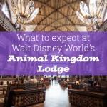 Walt Disney World, Florida! Part 1 – Animal Kingdom Lodge