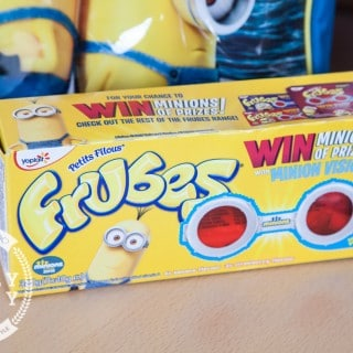 Going bananas for Minions with Frubes