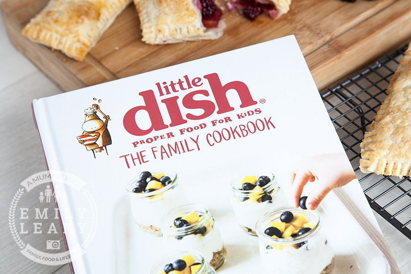 The recipe for these blackberry and apple parcels is from the Little Dish family cookbook