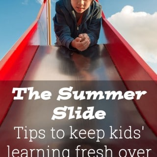The Summer Slide: tip to freshen up kids' learning during the last of the holidays