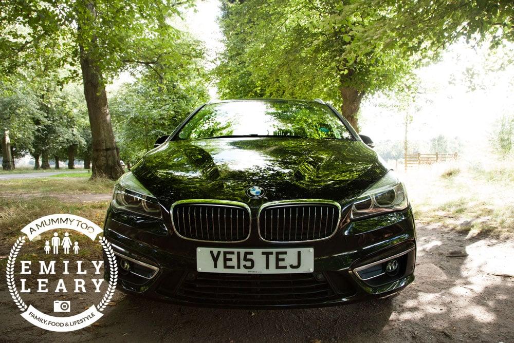 BMW 2 Series Gran Tourer front view low