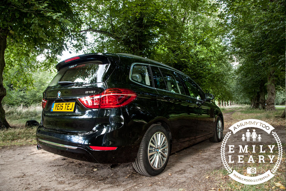 BMW 2 Series Gran Tourer back view angled