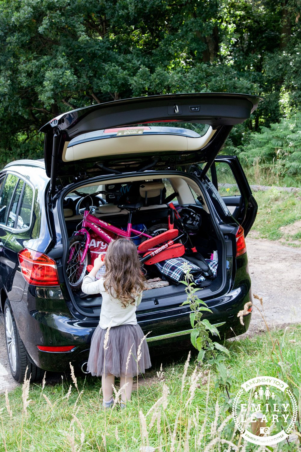 Packing up the BMW 2 Series Gran Tourer at Clumber Park