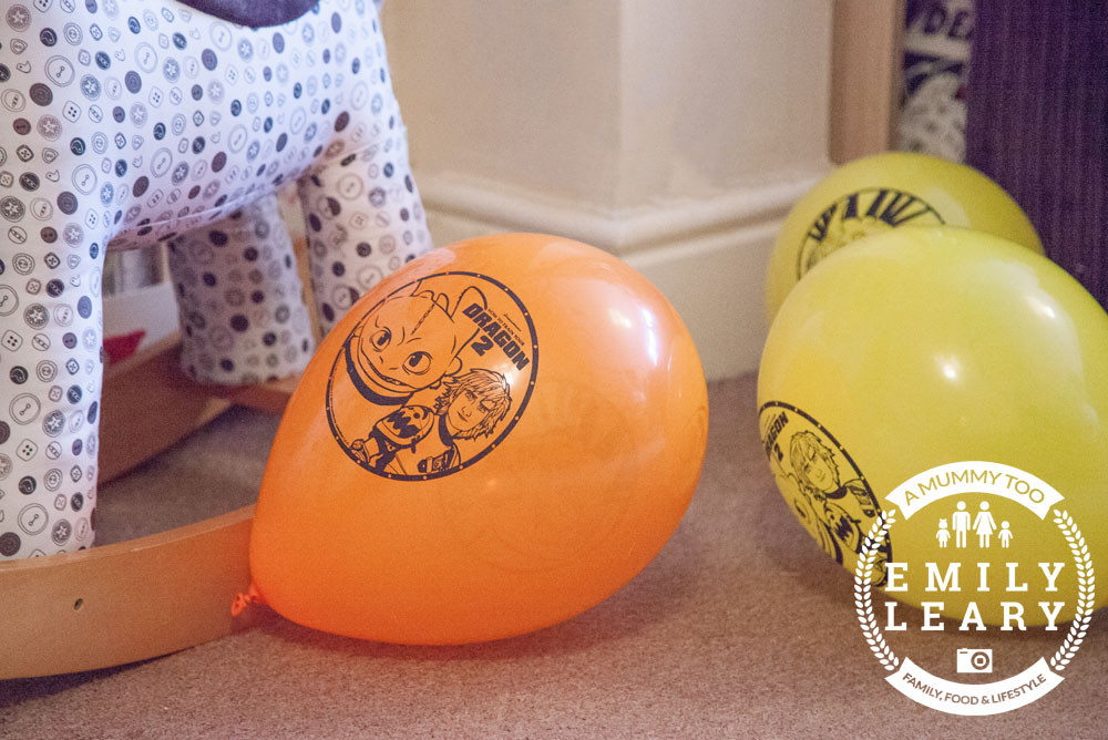 Dragons-balloons