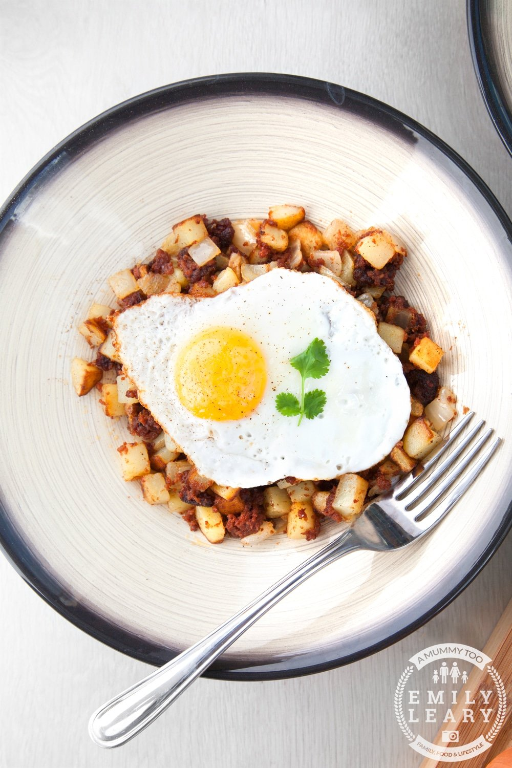 Chilli corned beef hash! Spice up your lunchtime with this twist on a classic dish. It's easy to make and utterly delicious.