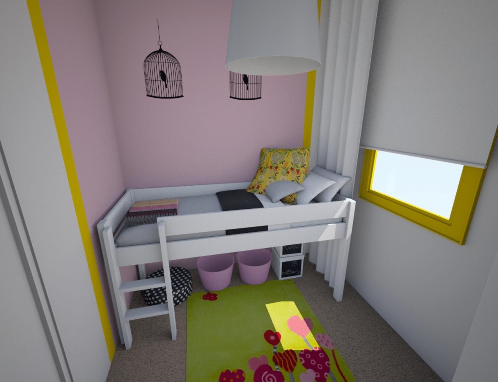 Bedroom - 3D view