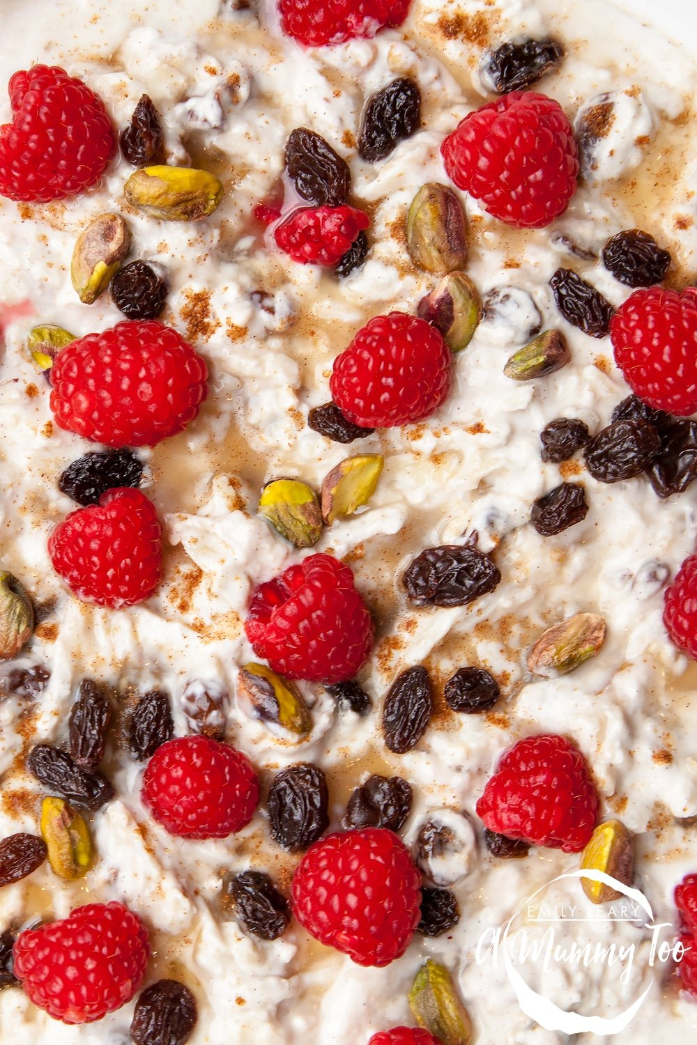 This delicious overnight breakfast bircher is rich with calcium, fruit and nuts