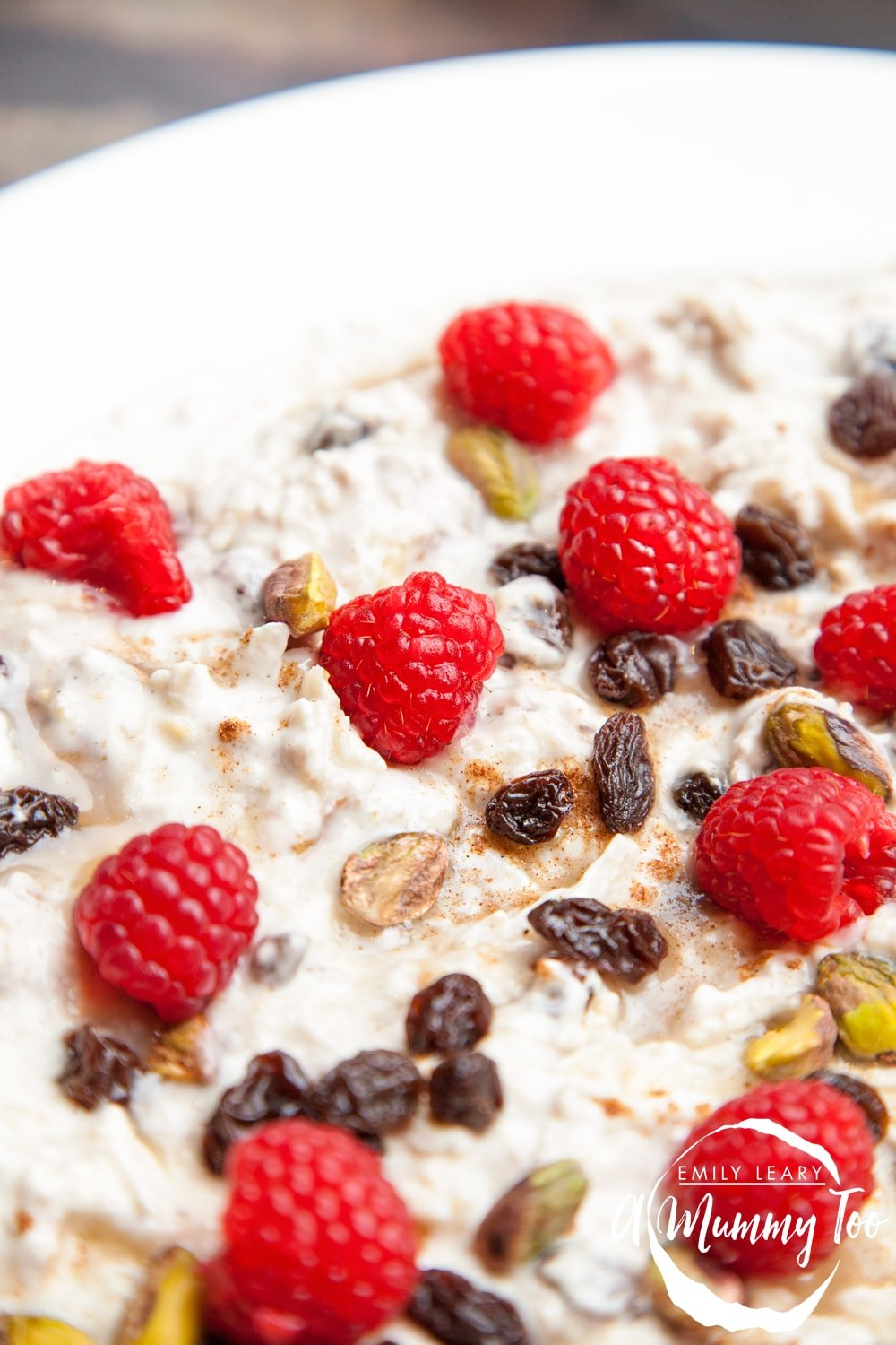 A nourishing overnight breakfast bircher, rich with calcium, fruit and nuts. It's creamy, refreshing and utterly delicious.